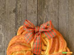 Estonian kringle - Brioche intrecciata alla cannella