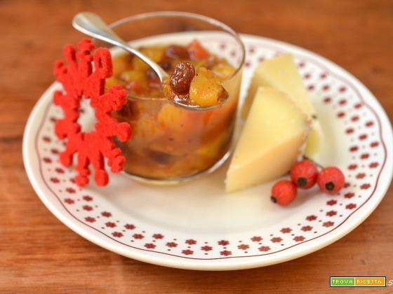 Chutney di pere allo zafferano