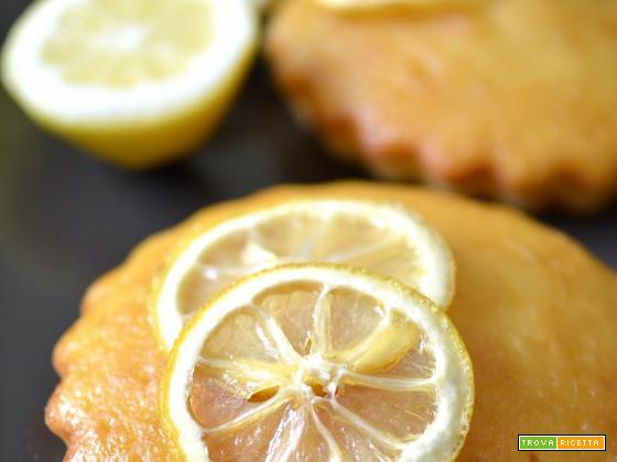 Tortine al limone e yogurt greco
