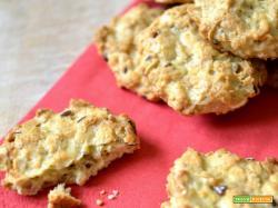Cookies (salati) ai fiocchi d'avena
