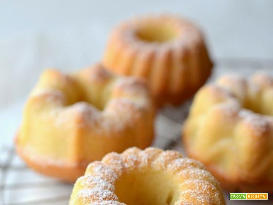 Ciambelline al lime e latte di cocco