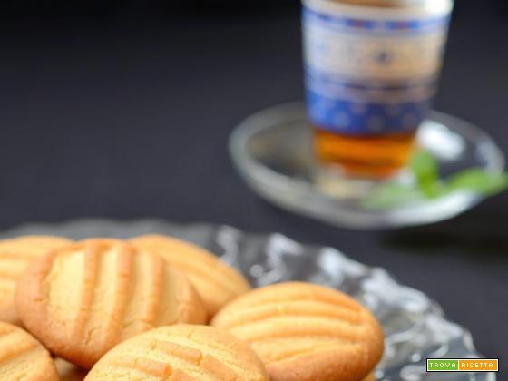 Tahini cookies - Biscotti alla crema di sesamo