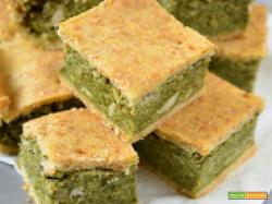Torta verde di erbe spontanee (tarassaco e piantaggine)
