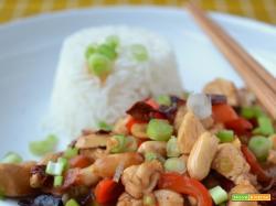 Pollo Kung Pao (Gong Bao Ji Ding)