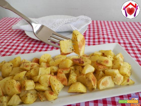 Patate arrosto con il microonde