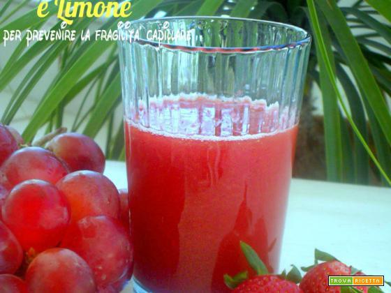 Succo Uva Fragola e Limone