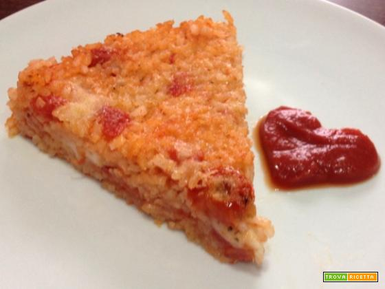 Tortino di riso alla pizzaiola