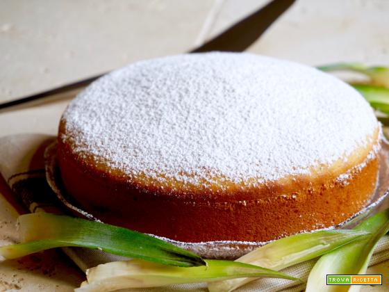 Torta all'Ananas 3 Ingredienti