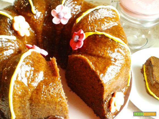 """Torta """"delizia soffice"""" al cioccolato"""