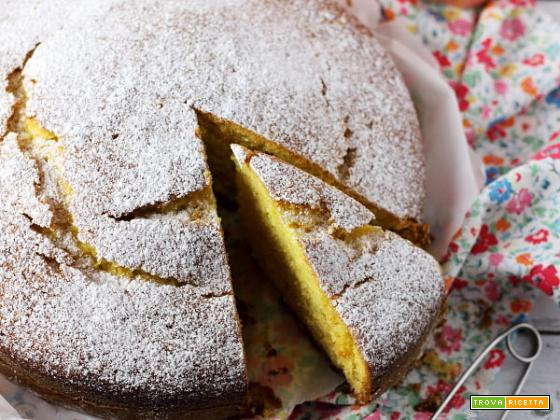 Torta morbida all'arancia e olio d'oliva