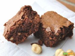 Brownies alle nocciole, golosità americana!