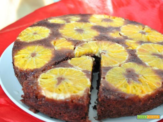 Torta cacao e arance per il compleanno di Zael