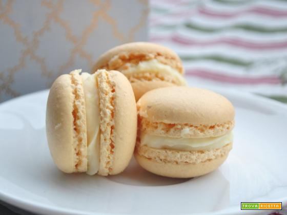 Macarons all'arancia