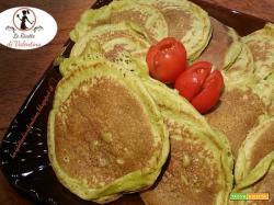 Mini pancacakes alle zucchine