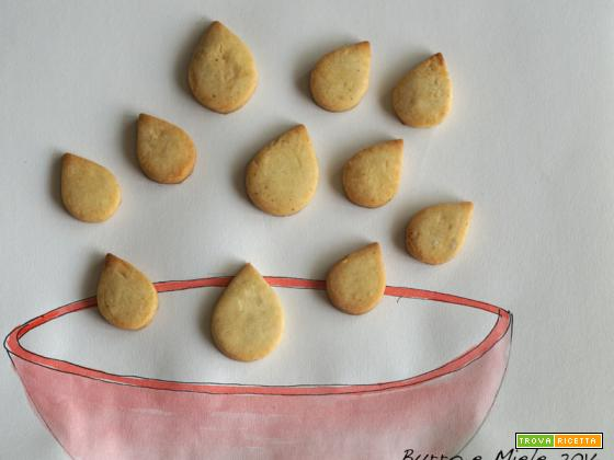 Buon viaggio goccina di pasta sablé! (ricetta halavi)