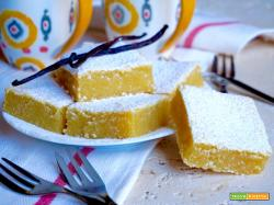 Brownies alla Vaniglia
