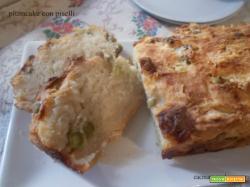 Plumcake con piselli – lievito madre