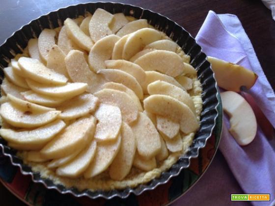 Crostata di mele nascoste