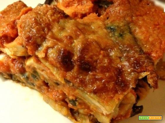 Moussaka di melanzane ricetta greca