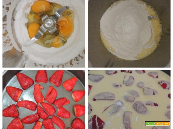 Clafoutis di fragole col Bimby