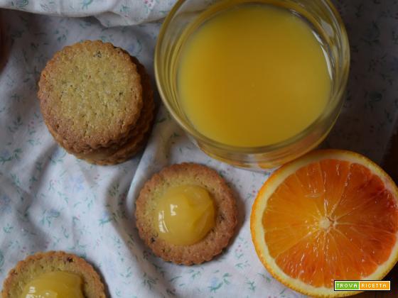 Baci di sole: biscottini ai pistacchi, olio d'oliva e lemon curd per l'MTC 56