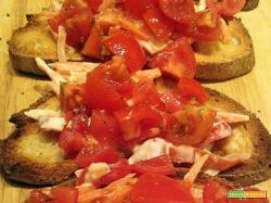Bruschette primavera – Finger food veloce
