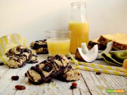 Barrette ananas e cocco