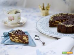 Chocolate Biscuit Cake - long live the Queen