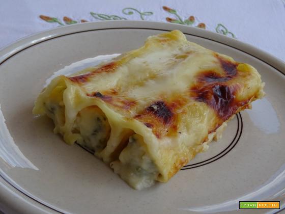 Cannelloni ricotta e asparagi ricetta facile