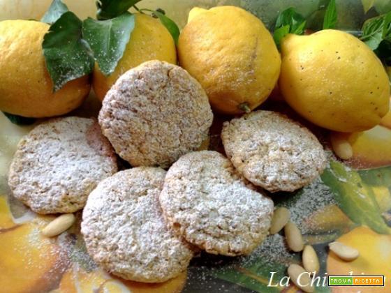 Biscotti ai cereali e profumo di limone