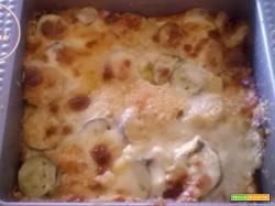 tortino zucchine formaggio uova