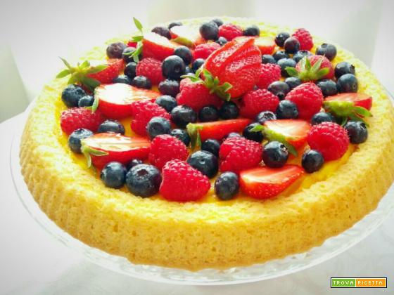 Torta alla frutta morbida