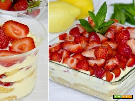 Tiramisù alle fragole: un dessert fresco e delizioso!