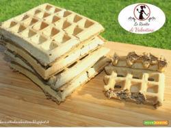 Waffle con farina di grano saraceno