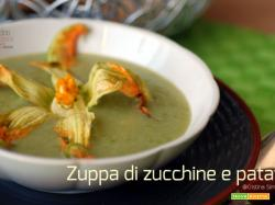 Zuppa di zucchine e patate, ricetta leggera e vegan