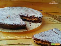 Torta Cacao ripiena di Cocco Cheese Cream