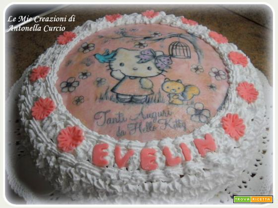 TORTA HELLO KITTY ALLE DUE CREME