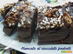 Plumcake al cioccolato fondente