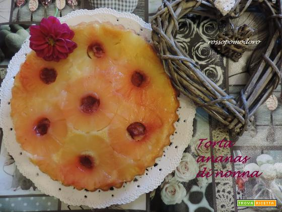 Torta ananas di nonna