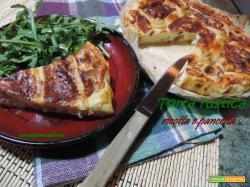 Torta rustica ricotta e pancetta