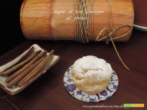 Bignè di San Giuseppe al forno