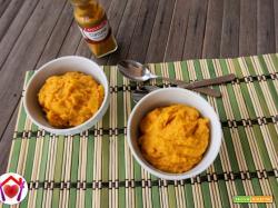 Humus di ceci e carote