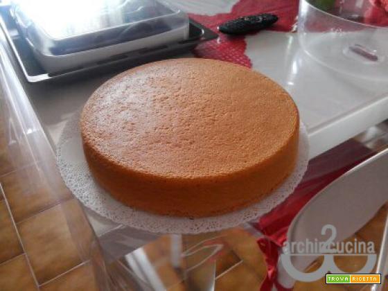 Le torte di 2archincucina: il Pan di Spagna