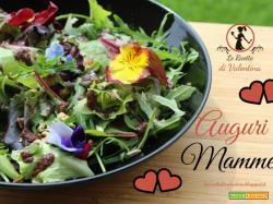 FESTA DELLA MAMMA: Insalata con i fiori, semi e Sumach, AUGURI MAMME!
