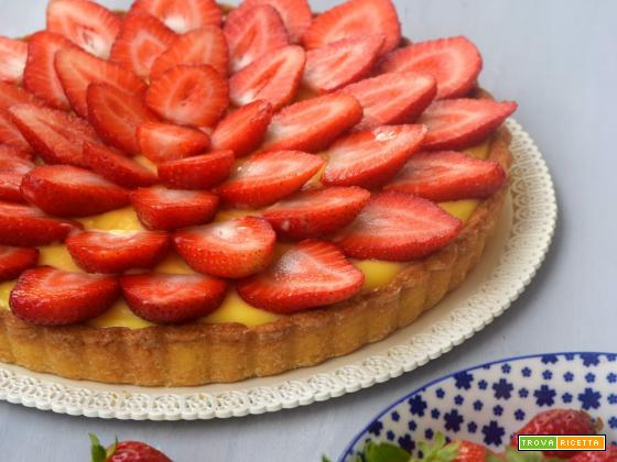 Crostata di fragole al lemon curd