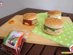 Hamburger di tonno e fagioli