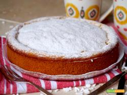 Torta alle Pesche 3 Ingredienti