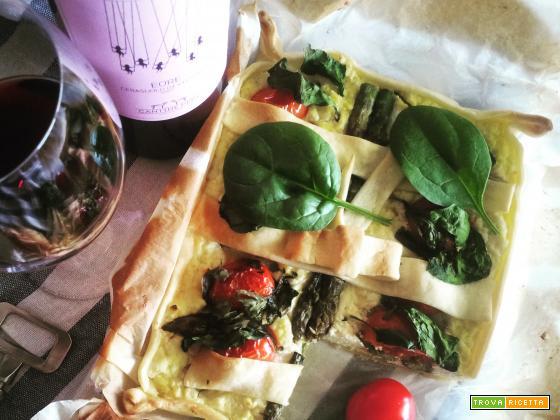 Torta Salata Bufalina e Verdure