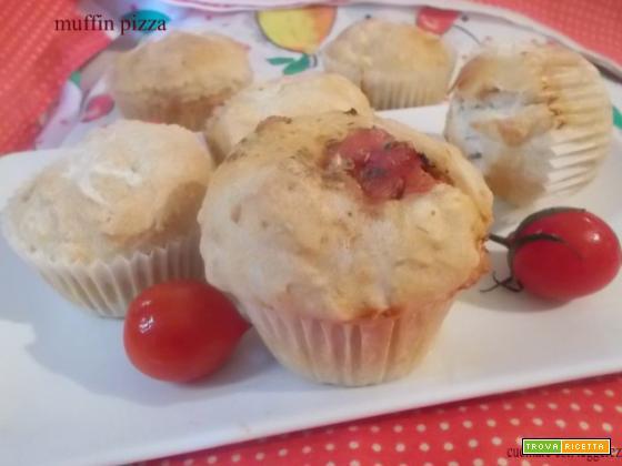 Muffin pizza – lievito madre