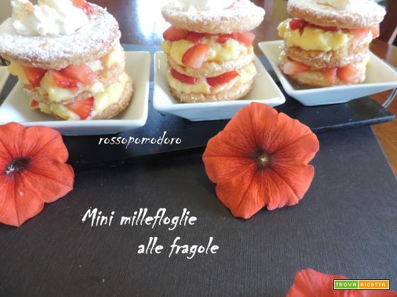 Mini millefoglie alle fragole